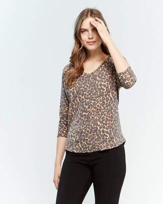 678e0f72906 Polyester Leopard Print Shirts For Women - ShopStyle