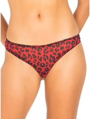 GUESS Animal-Print Brazilian Panty