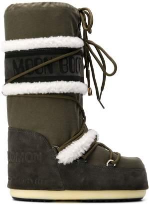 Yves Salomon mid-calf ski boots