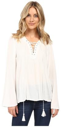 Brigitte Bailey - Gianna Bell Sleeve Top Women's Clothing $59 thestylecure.com