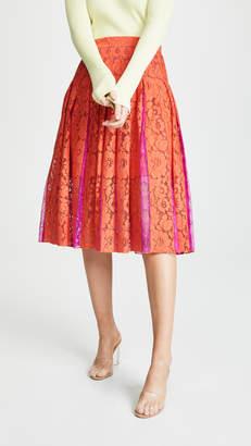 Diane von Furstenberg Gardenia Lace Skirt