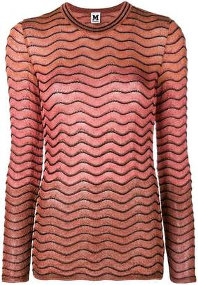 M Missoni zigzag pattern jumper