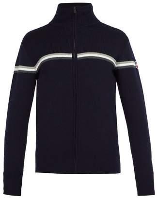 Fusalp - Wengen Fiz Ii Zip Up Wool Sweater - Mens - Navy