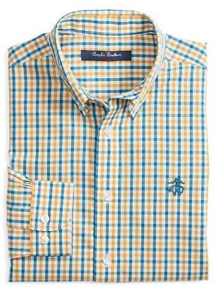 Brooks Brothers Boys' Non-Iron Multi Gingham Sport Shirt - Little Kid, Big Kid