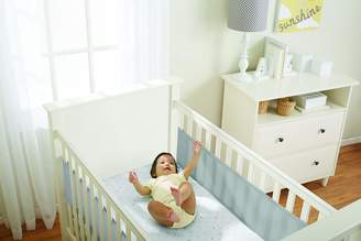 BreathableBaby 2 Sided Cot Mesh Liner (White Mist)