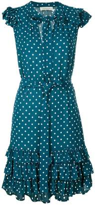 Zimmermann polka dot ruffle dress