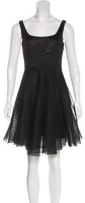 Milly Sleeveless Mesh Dress w/ Tags
