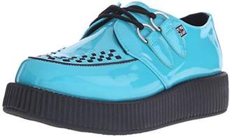 T.U.K. Women's Patent Viva Low Sole Creeper Oxford