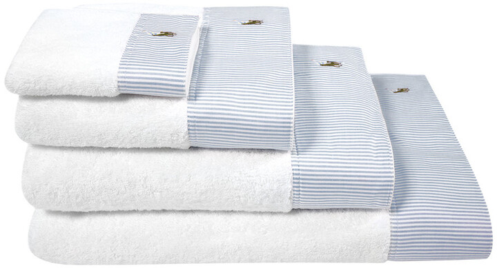 Oxford Towel - Blue - Bath Towel