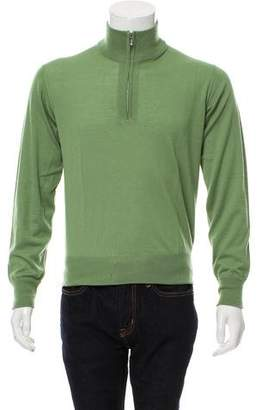 Loro Piana Cashmere Half-Zip Sweater