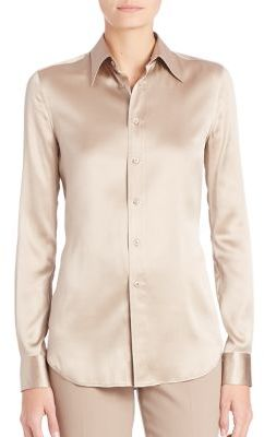 Ralph Lauren Collection Cindy Shirt $850 thestylecure.com