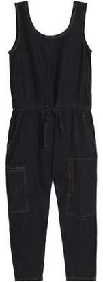 Current/Elliott Gathered Linen Jumpsuit