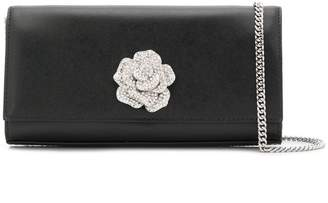 MICHAEL Michael Kors crystal embellished rose clutch