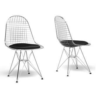 Baxton Studio 2-piece Avery Chair Set