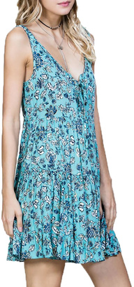 En Creme Sleeveless Floral Dress $58 thestylecure.com