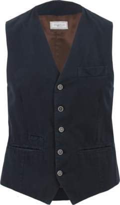 BRUNELLO CUCINELLI Twill Front Gilet $990 thestylecure.com