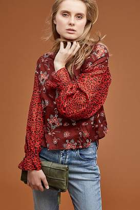 Maison Scotch Mix-Print Top