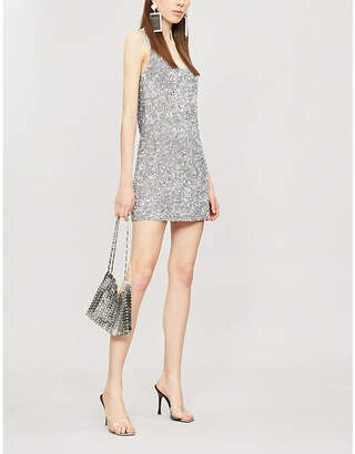Ashish Sleeveless sequinned mini dress