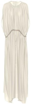The Row Regina silk dress