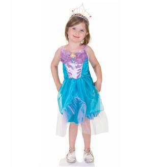Great Pretenders Tea Party Mermaid Dress, Blue, Size 5-6