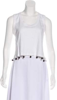 Sonia Rykiel Embellished Sleeveless Top