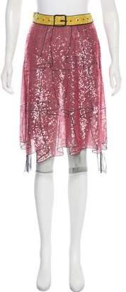 Gucci 2016 Trompe L'Oeil Skirt