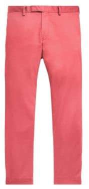 Polo Ralph Lauren Men's Stretch Flat Front Pants - Nantucket Red - Size 32x30