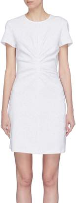 Victoria Beckham VICTORIA, Gathered front T-shirt dress