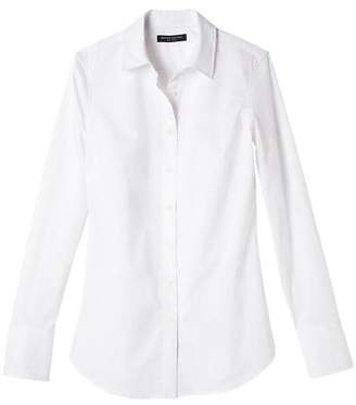 Banana Republic Petite Riley Tailored-Fit Super-Stretch Shirt