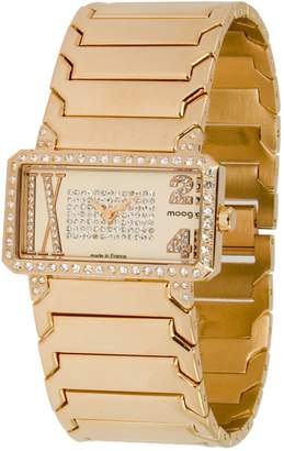 Swarovski Moog Paris In Between Women's Watch with Rose Gold Dial, Rose Gold Stainless Steel Strap & Elements - M44874-007