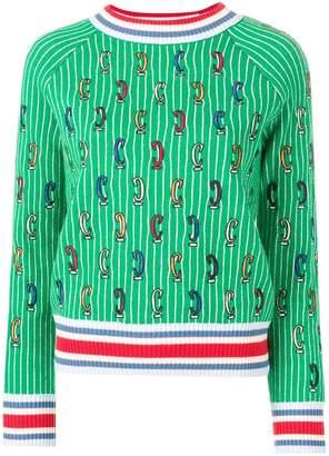 Carven patterned jumper