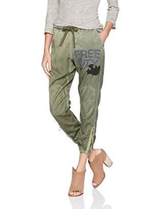 Freecity Women's Satin Jump Pant