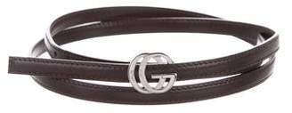 Gucci Skinny Leather Leather Belt