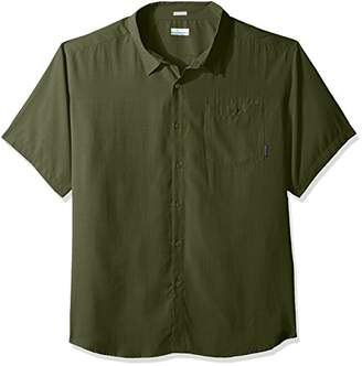 Columbia Men's Big and Tall Mossy Trail Short Sleeve Shirt