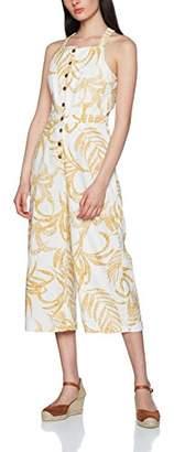MinkPink Women's Paradise Cropped Baggy|#238 Paisley Sleeveless Jumpsuit,(Manufacturer Size:Large)