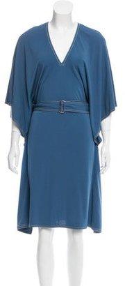 Hermès Belted Midi Dress