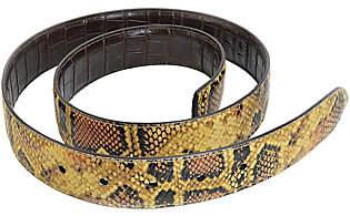 Barbara Bixby Reversible Leather Strap