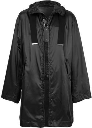 Puma Maison Yasuhiro oversized zip raincoat