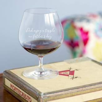 Oh So Cherished Personalised Brandy Glass