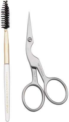 Tweezerman Brow Shaping Scissors And Brush