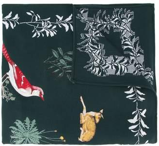 Oscar de la Renta Enchanted Forest scarf