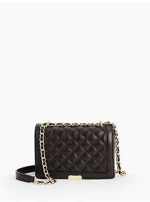 Black Quilted Chain Purse Shopstyle