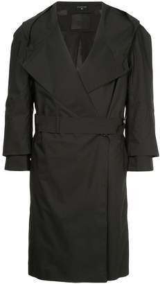 Norwegian Rain hooded trench coat