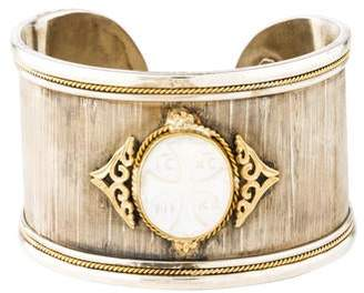Konstantino Mother of Pearl Athena Cuff