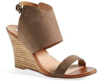 Women's Halogen 'Clarette' Wedge Sandal $99.95 thestylecure.com
