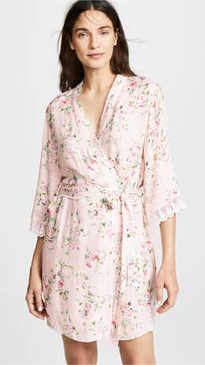 Flora Nikrooz Rose Printed Robe