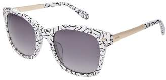 Fossil Lyndhurt Rectangle Sunglasses Accessories S0GBY