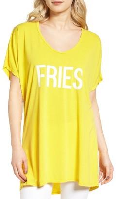Women's Show Me Your Mumu Benji - Fries Tunic Tee $96 thestylecure.com