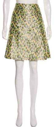 Bottega Veneta Jacquard Knee-Length Skirt