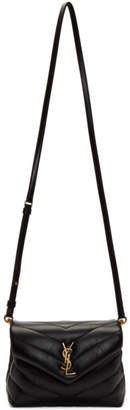 Saint Laurent Black Toy Loulou Strap Bag